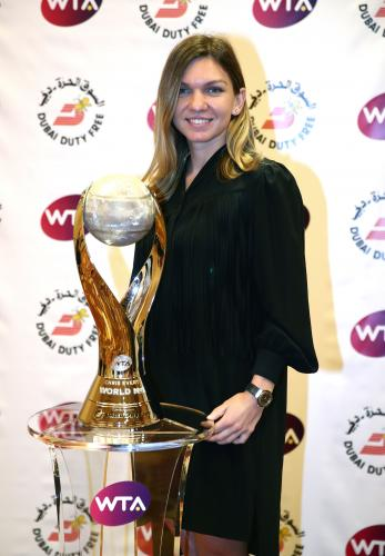CHRIS EVERT WTA WORLD NO.1 TROPHY 17