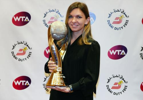 CHRIS EVERT WTA WORLD NO.1 TROPHY 13