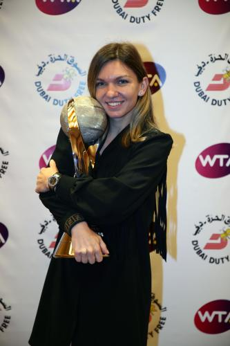 CHRIS EVERT WTA WORLD NO.1 TROPHY 15