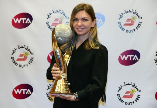 CHRIS EVERT WTA WORLD NO.1 TROPHY 16