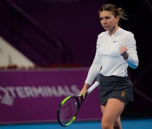 Simona at Doha 8