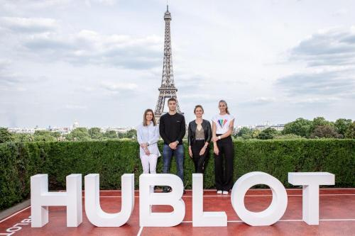 Simona in Paris (Hublot meeting) 1