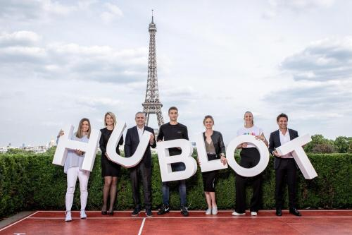 Simona in Paris (Hublot meeting) 6