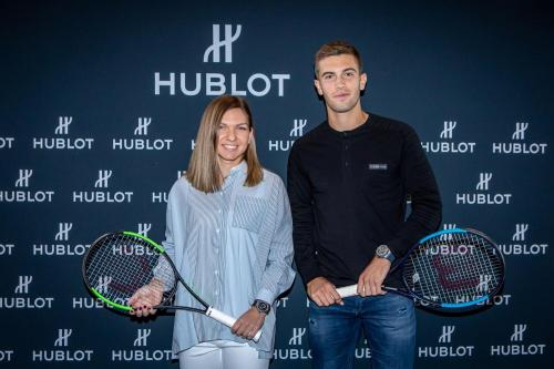 Simona in Paris (Hublot meeting) 3