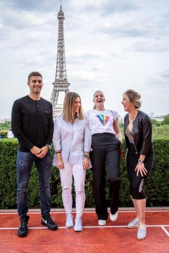 Simona in Paris (Hublot meeting) 5